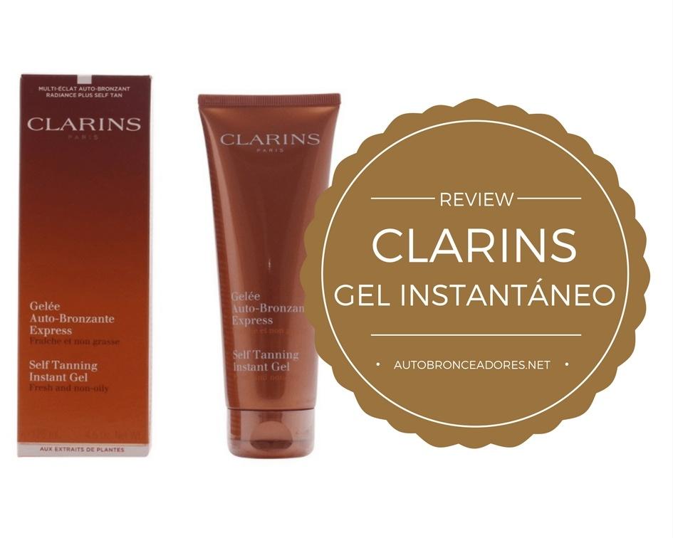 Clarins gel autobronceador instantáneo- Review