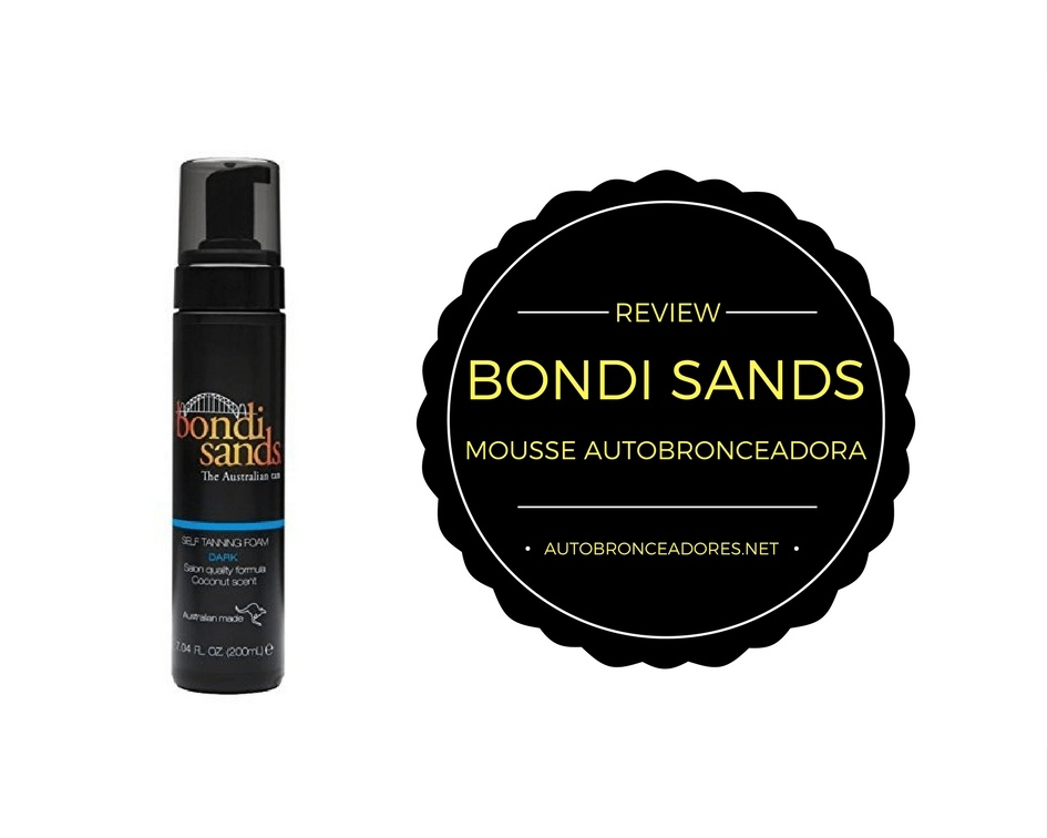 Bondi Sands Espuma o Mousse Autobronceadora