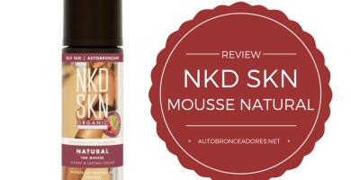 Mousse autobronceadora NKD-SKN Instant-opinión